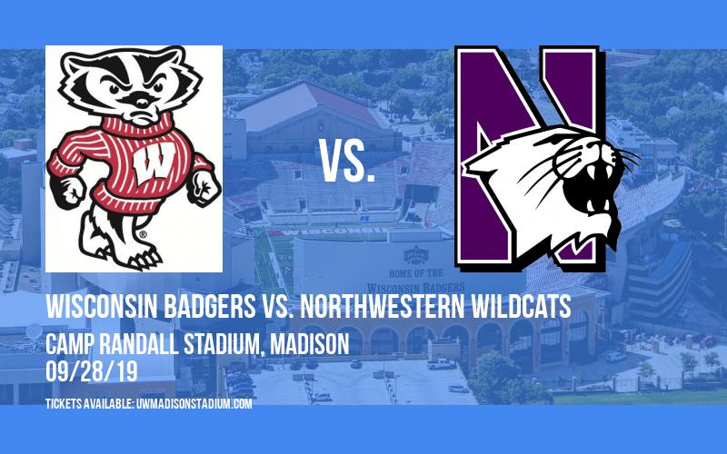 PARKING: Wisconsin Badgers vs. Northwestern Wildcats at Camp Randall Stadium