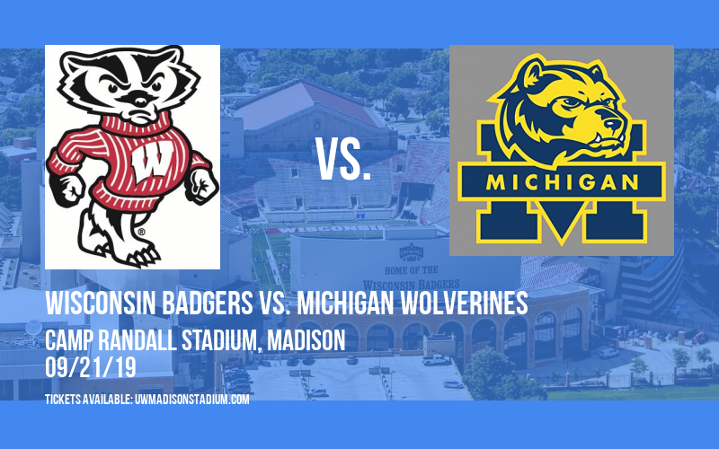 PARKING: Wisconsin Badgers vs. Michigan Wolverines at Camp Randall Stadium