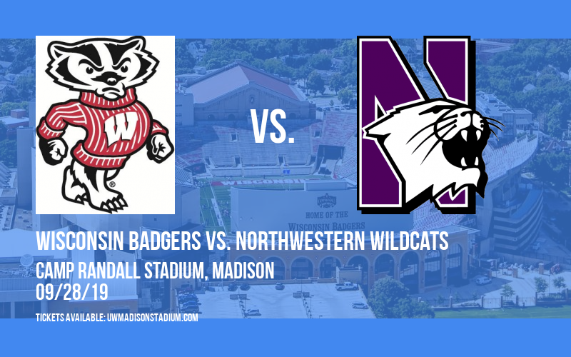 Wisconsin Badgers vs. Northwestern Wildcats at Camp Randall Stadium