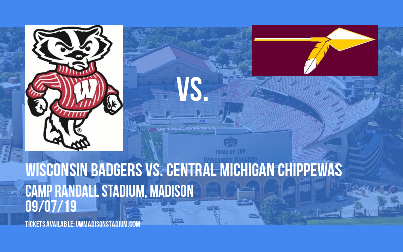 Wisconsin Badgers vs. Central Michigan Chippewas at Camp Randall Stadium
