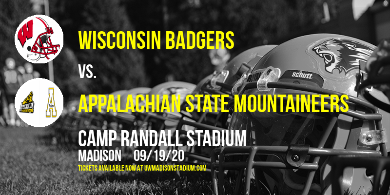 Wisconsin Badgers vs. Appalachian State Mountaineers at Camp Randall Stadium