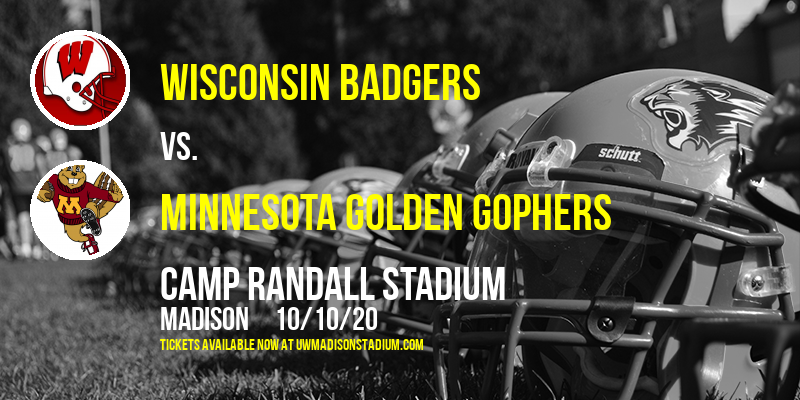 Wisconsin Badgers vs. Minnesota Golden Gophers at Camp Randall Stadium