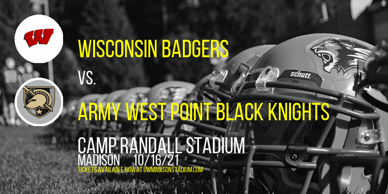 Wisconsin Badgers vs. Army West Point Black Knights at Camp Randall Stadium